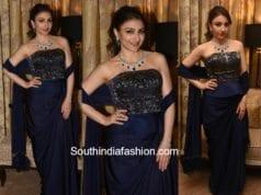 Soha Ali Khan in an off shoulder dress at a dance show