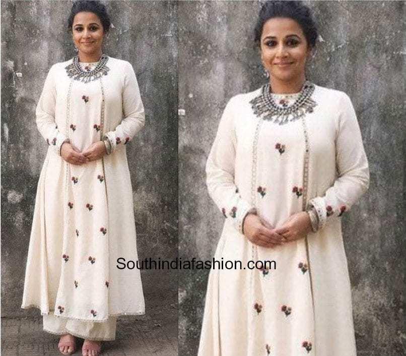 Vidya Balan Indo Western Outfits