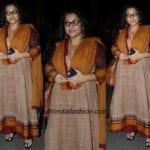 Vidya Balan's Ethnic Look
