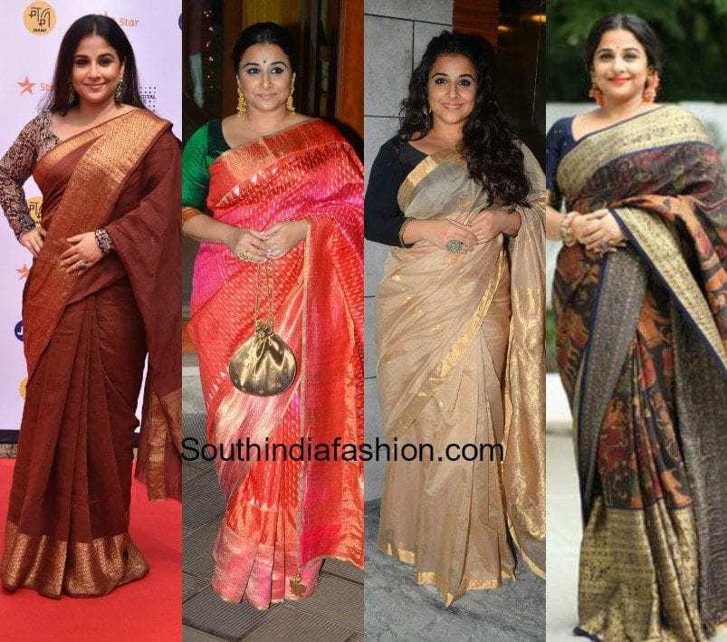 Vidya Balan's saree styles to steal