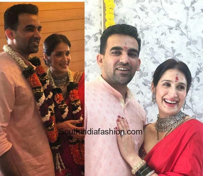 Zaheer Khan and Sagarika Ghatge at their Wedding 1