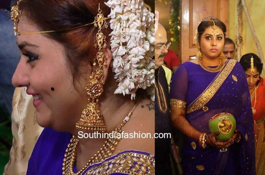 actress namitha and veer marriage photos