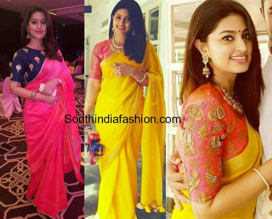 actress sneha sarees