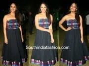 anchor anasuya indo western dress at balakrishnudu audio launch