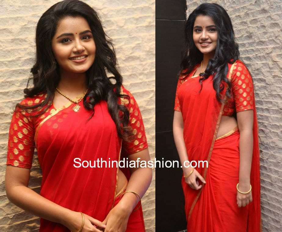 7 Stunning Saree Blouse Designs Sported By Anupama