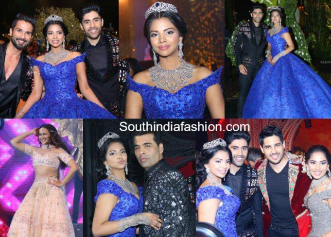 boinipally srinivas daughter hasini pre wedding celebrations and sangeet function