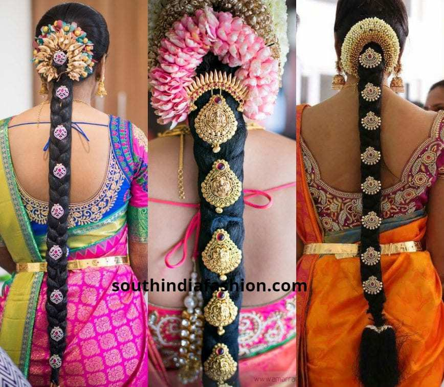 Bridal Braid With Billas And Venis