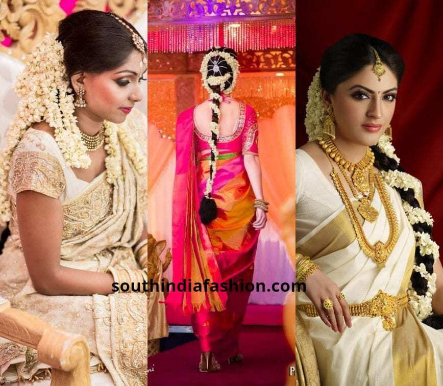 40 Trending South Indian Bridal Hairstyles
