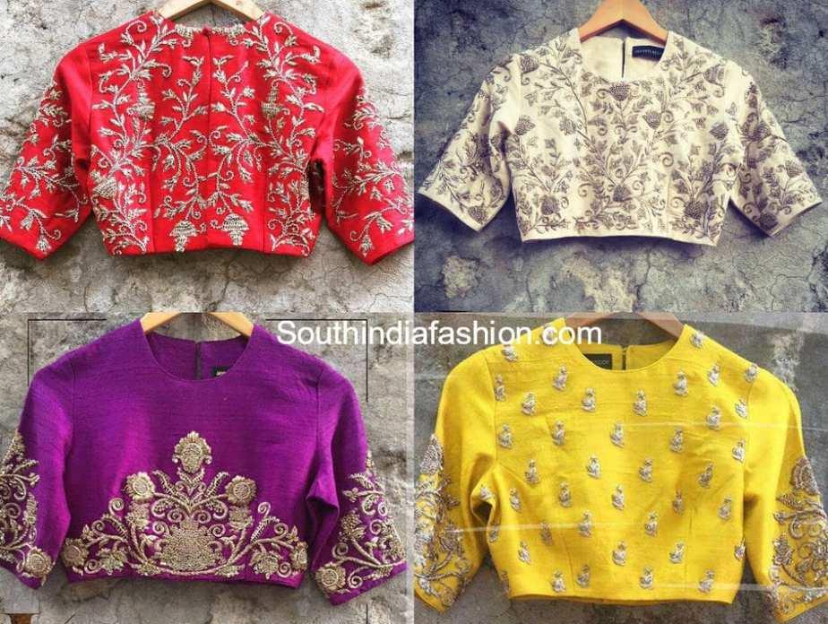 jayanti reddy blouse designs