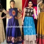 20 Beautiful Kalamkari Anarkali And Gown Designs To Try Out!!