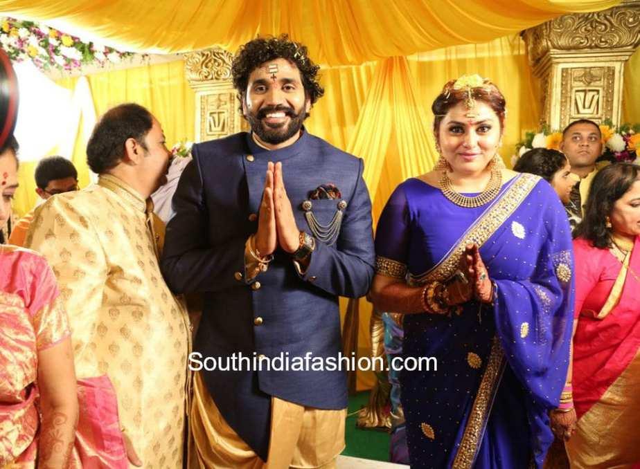 acttress namitha wedding