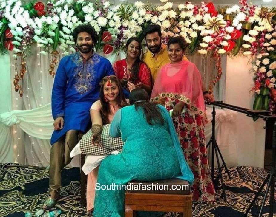 actress namitha veer mehendi