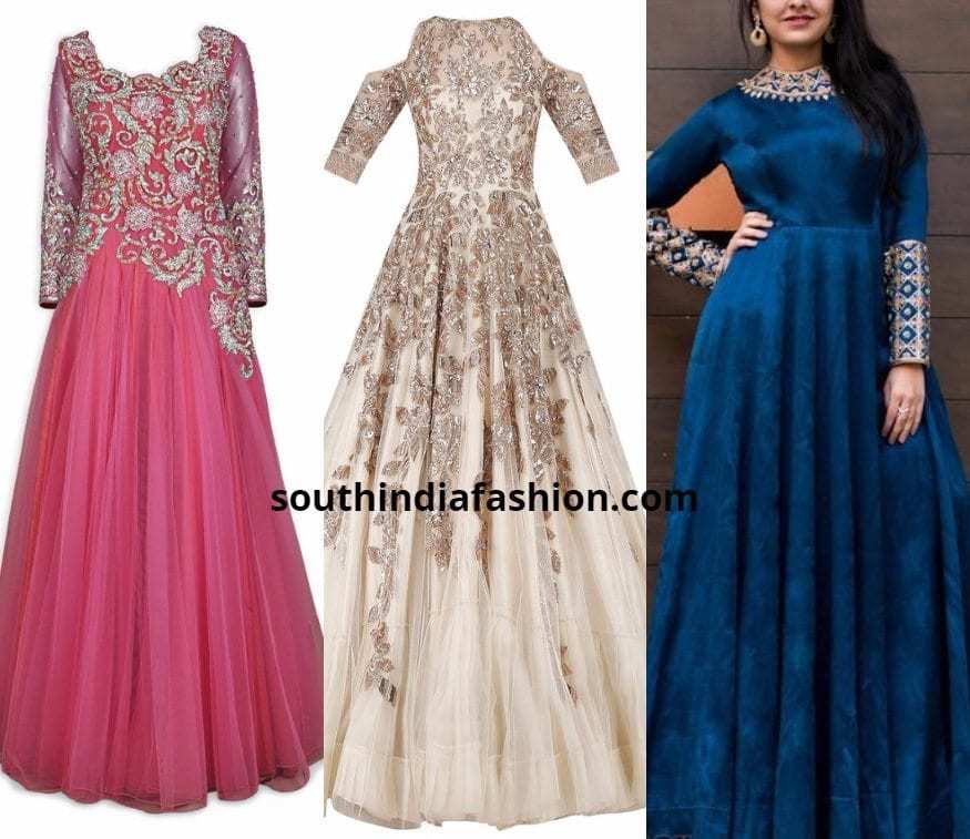 plus size bride in indo western