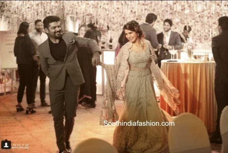 samantha akkineni and naga chaitanya wedding reception and after party photos