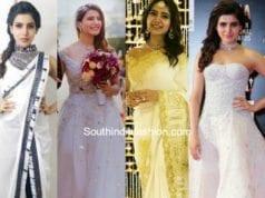 samantha akkineni white dresses