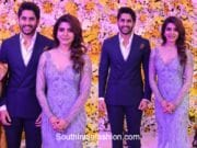 samantha naga chaitanya wedding reception photos