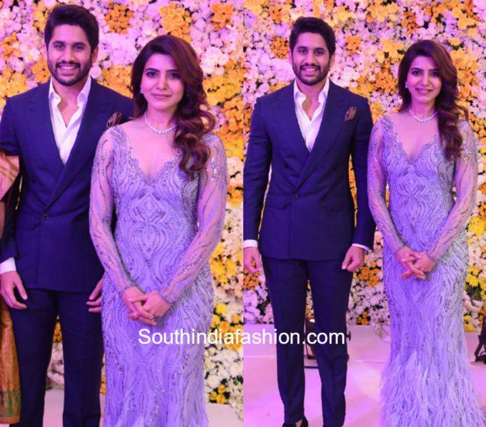 samantha naga chaitanya wedding reception photos