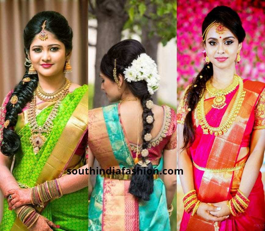 South Indian Hairstyle: 40 Trending South Indian Bridal Hairstyles