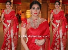 shreedevi banarasi silk saree hasini wedding