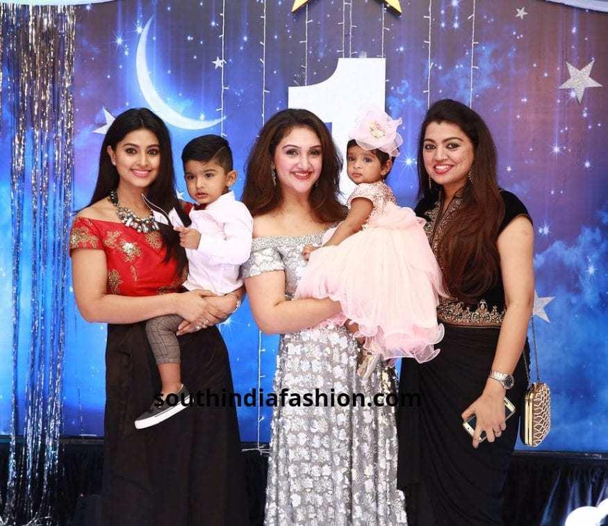 Sneha Prasanna in a Fusion outfit
