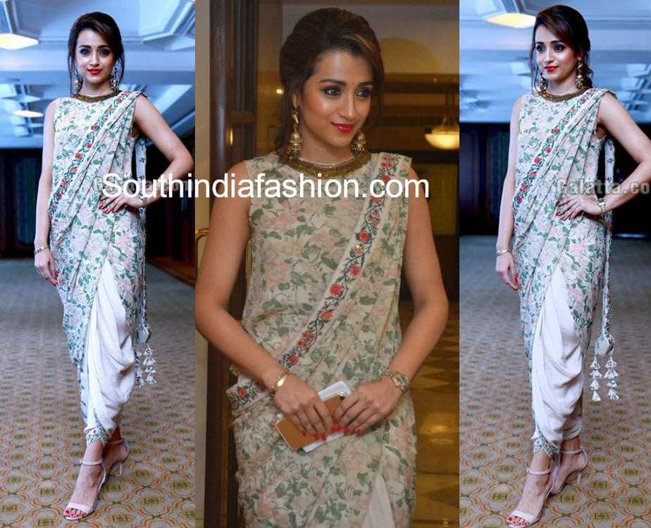 ec809d6aec Trisha Krishnan in Nikasha – South India Fashion