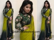 zaira wasim in divya reddy saree