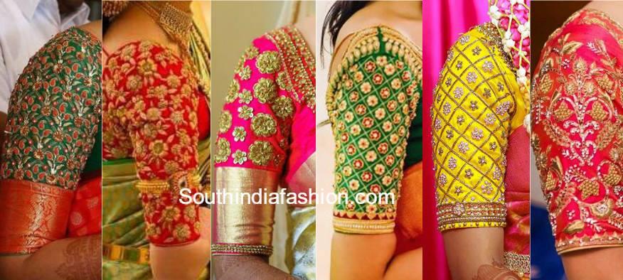 South India Fashion Blouse Designs Celebrity Fashion Designer Sarees 2018
