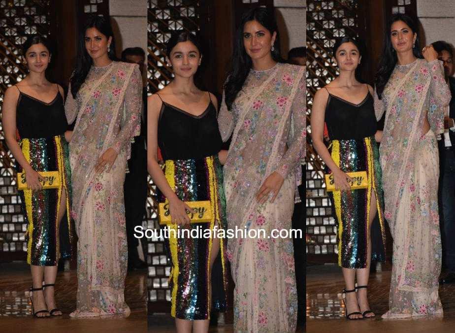 Alia Bhatt and Katrina Kaif at Ambani's Bash