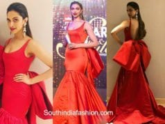Deepika Padukone in Gauri and Nainika at Filmfare Glamour and Style Awards 2017 1