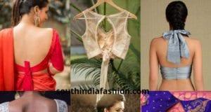 trendy knot blouses