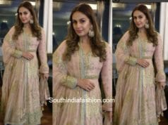 Huma Qureshi in Rimple and Harpreet Narula for an wedding event
