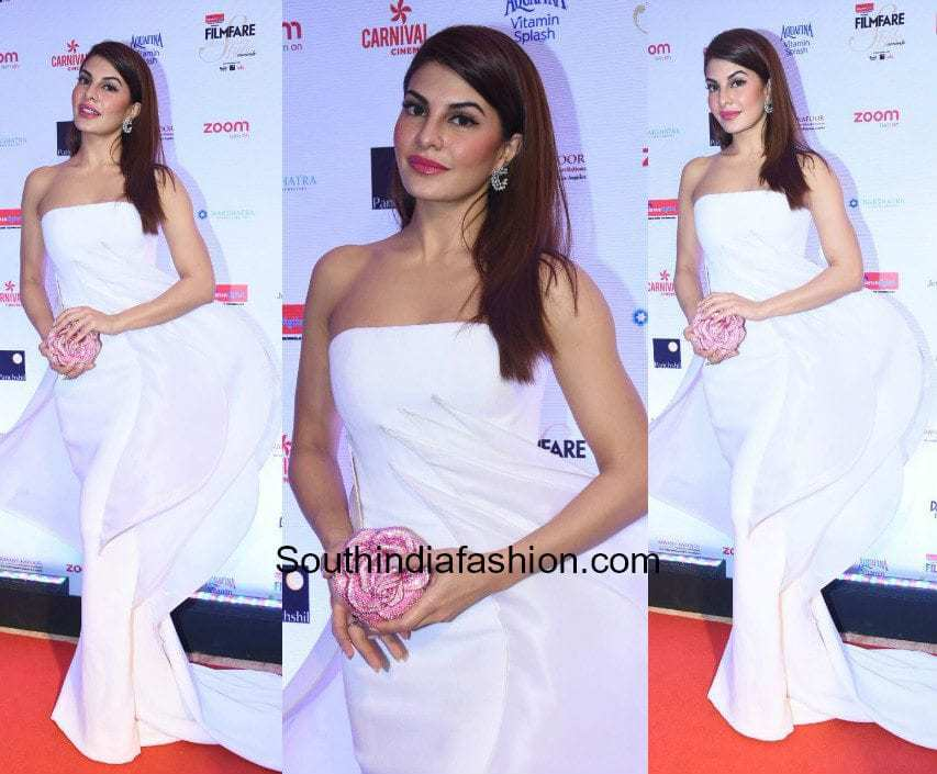 Jacqueline Fernandez in Stephane Rolland at Filmfare Glamour and Style Awards 2017
