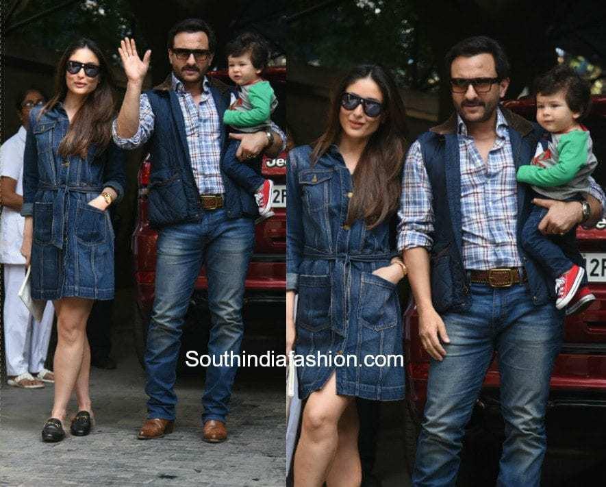 Kareena Kapoor and Saif Ali Kan for Christmas brunch