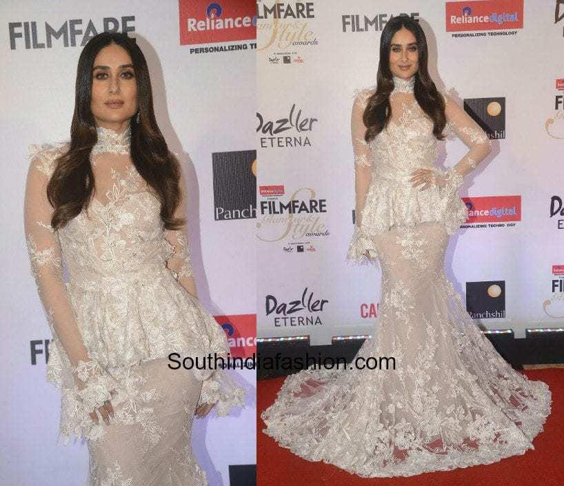 Kareena Kapoor in Galia Lahav at Filmfare Glamour and Style Awards 2017