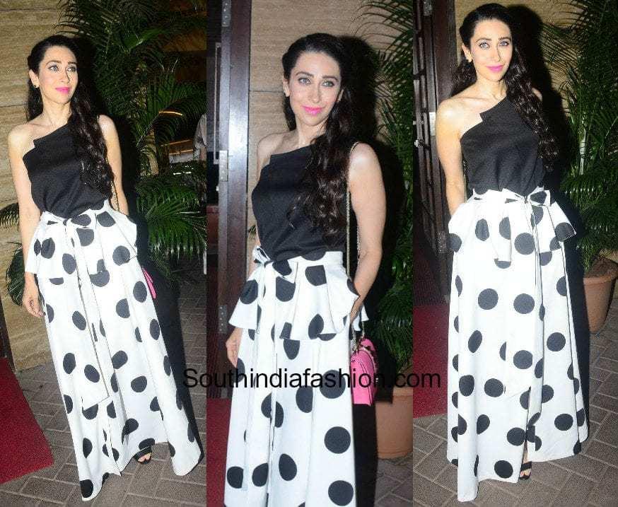 Karishma Kapoor in Sachin and Babi and Knya at Malaika Arora Khan's Christmas Party