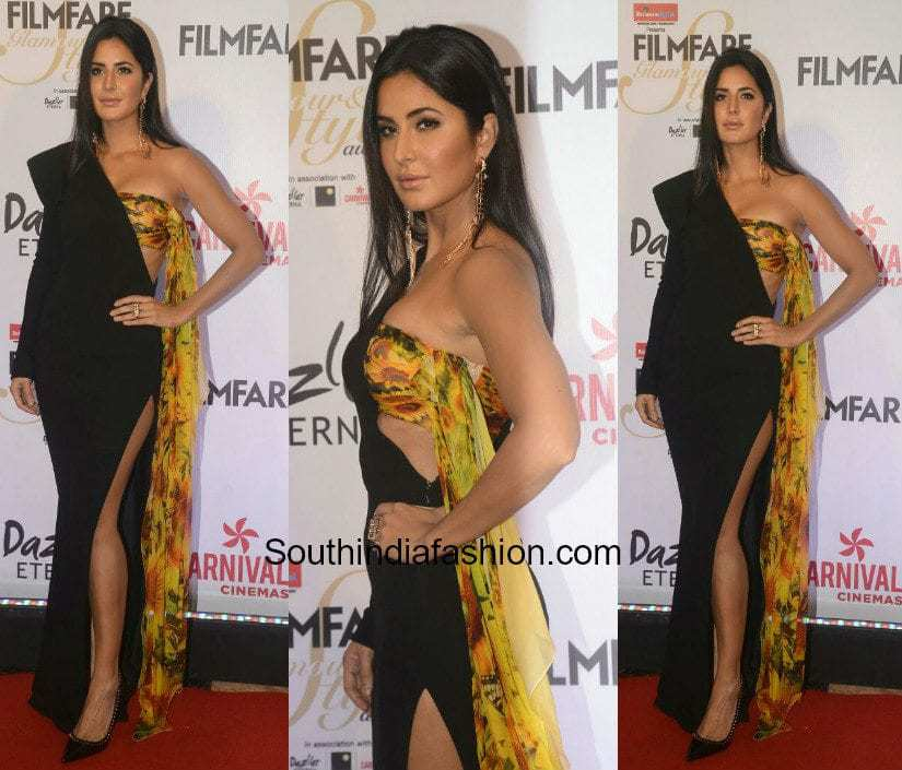 Katrina Kaif in Jean Paul Gaultier – South India Fashion