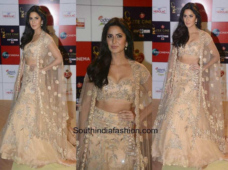 katrina kaif in manish malhotra � south india fashion