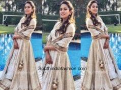 Mira Kapoor in Anjul Bhandari at a wedding