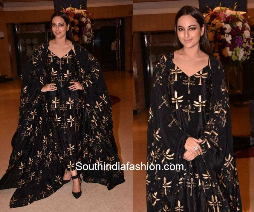Sonakshi Sinha in House Of Masaba for an event 1