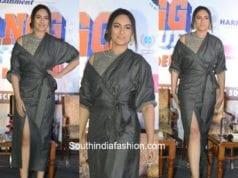 Sonakshi Sinha in Mhaisalkar at Dabangg Tour 2017 Presscon