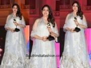 Sridevi Kapoor in Manish Malhotra at Masala Awards 2017