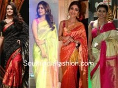 Various clad in different sarees