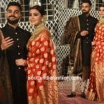 Anushka Sharma & Virat Kohli's Wedding Reception