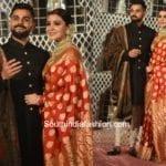 Anushka Sharma & Virat Kohli's Wedding Reception