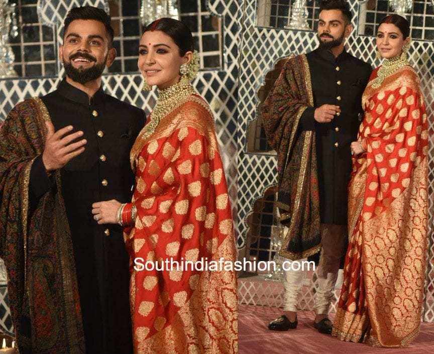 Anushka Sharma Amp Virat Kohli S Wedding Reception South