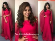 anjali pink gown balloon audio launch