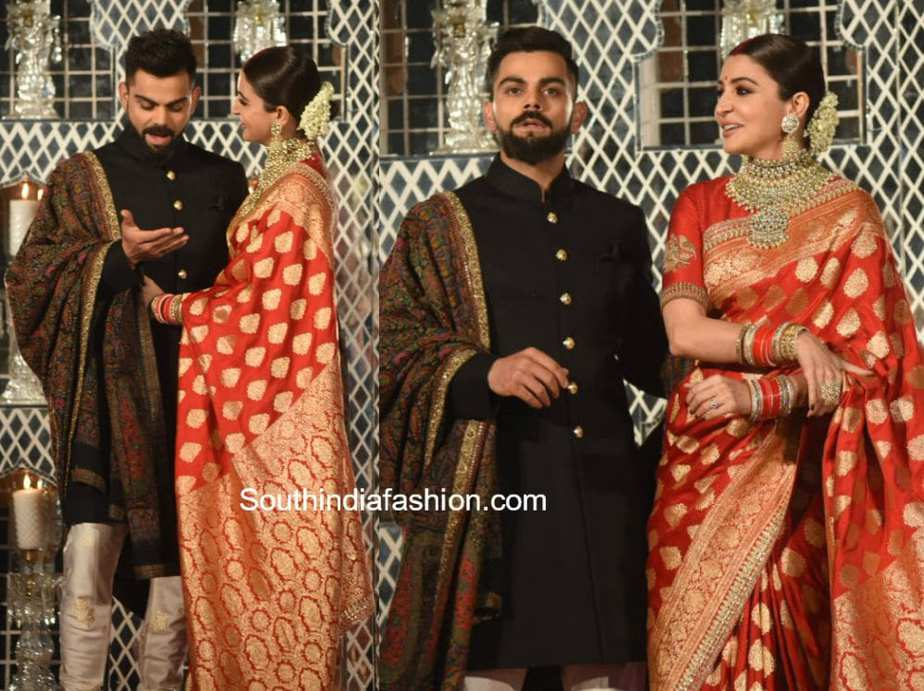virat kohli anushka sharma wedding reception in delhi