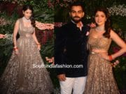 Virat Kohli and Anushka Sharma at their Wedding Reception