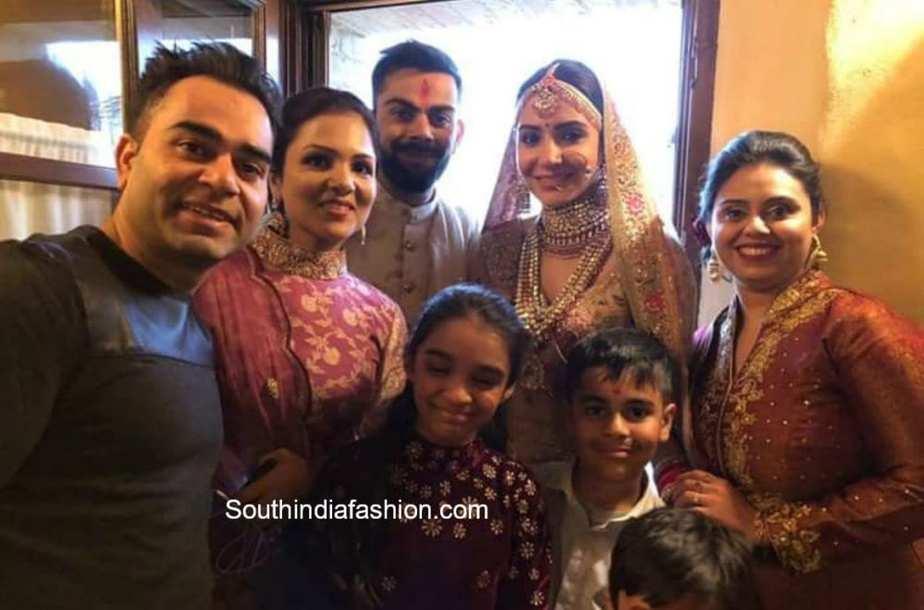 anushka sharma and virat kohli weddingphotos
