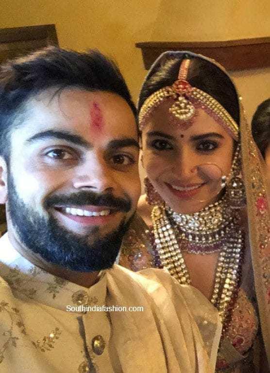 anushka sarma and virat kohli weddingphotos